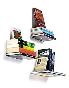 Dispositif invisible réagissant fLYING bOOKS sous forme de livres