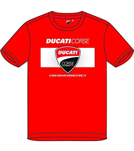 Camiseta Ducati Corsica - DESMOSEDICI - Rojo - M