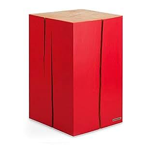 naturehome baumstamm hocker massiv holz rot natur erle. Black Bedroom Furniture Sets. Home Design Ideas