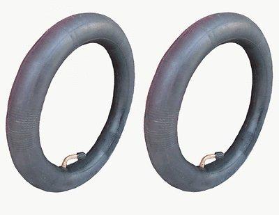 2 cámaras de aire de repuesto para ruedas traseras del carrito Bugaboo Donkey de 31,75 cm con válvula de punta curva