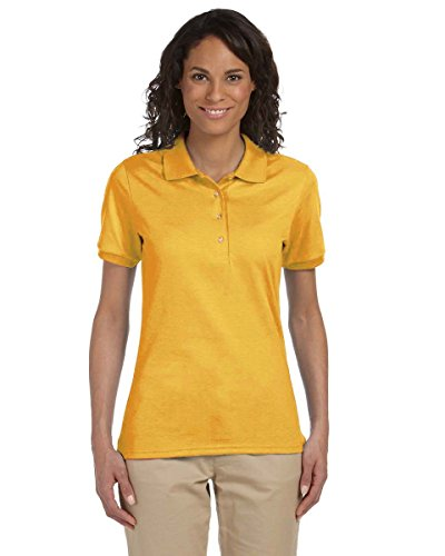 Jerzees -  Polo  -  Vestito modellante  - Donna Oro - oro