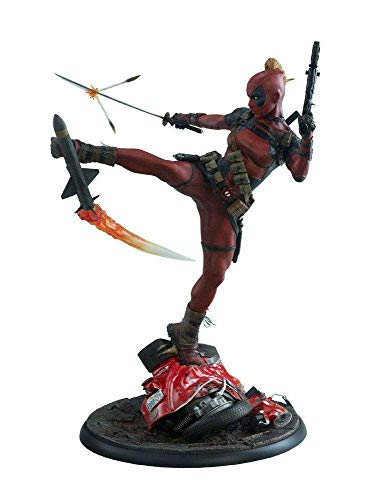 Sideshow Collectibles ss300546Lady Deadpool Premium Format Figur, Multi