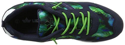 Lico Leeds, Sneakers Basses Mixte Adulte Bleu (Marine/gruen)