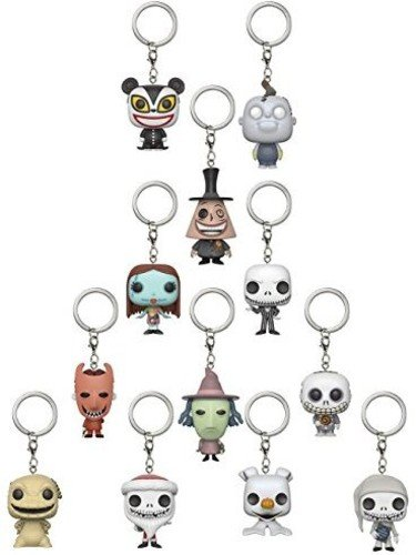 Funko Pop Blindbag Schlüsselanhänger: Nightmare Before Christmas Mystery Vinyl