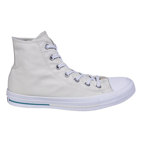 Converse Chuck 153502C Sneaker High Shield Canvas Buff/ Aegean Aqua/ white Aqua/bianco