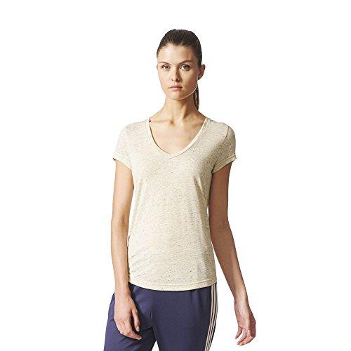adidas Damen Id Winners T-Shirt, Linen, S Preisvergleich