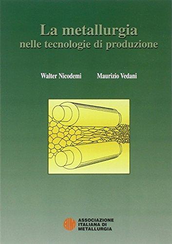 La metallurgia nelle tecnologie di produzione