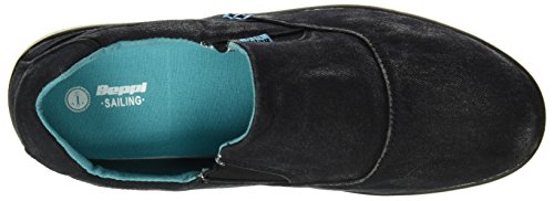 Beppi Casual Shoe, Chaussures homme Noir (Black)