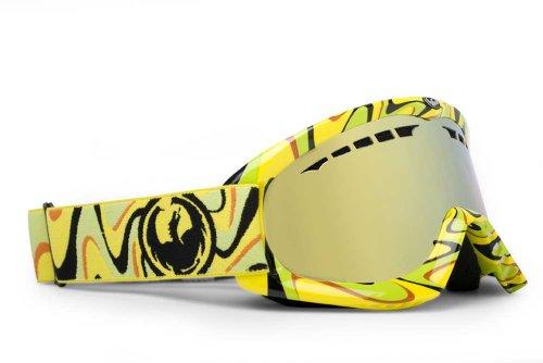 Dragon Alliance DX Goggle, Mind Melt 1 Yellow Vice
