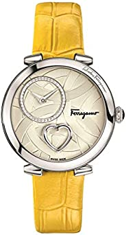 Salvatore Ferragamo Dress Watch For Women Analog Leather - FE2010016