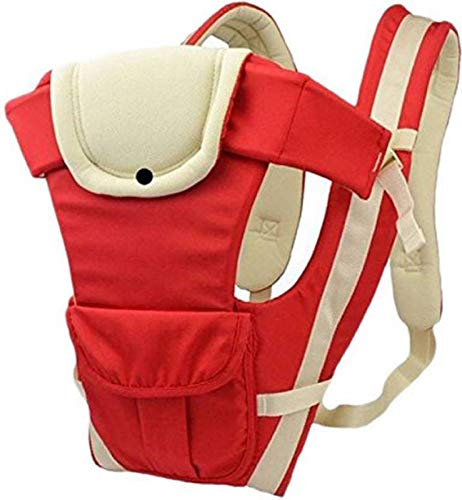 Cutieco Premium Quality Sling Backpack Baby Carry Bag, Red
