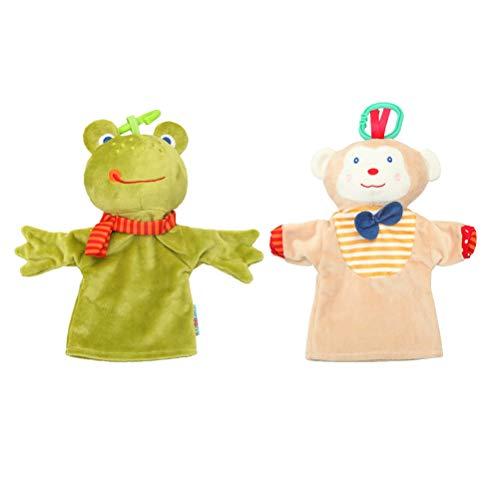 Toyvian Marioneta Mano Mono Rana marioneta Mano Juego