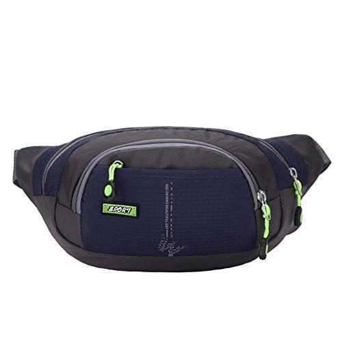 FEEHAN Tasche mit stern enganliegende Bauchtasche mit Kopfhöreranlass für Handy bis - zum Sport und der Reise entwickelt, unisex ,Taschen Multifunktions -wasserdichte Taschen Sport Schweißleder