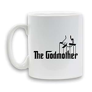 Le Mug avec inscription GODMOTHER (Parrain range très 11 oz tasse en céramique