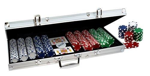 ProPoker 500 Poker Chip Set im Aluminium Koffer