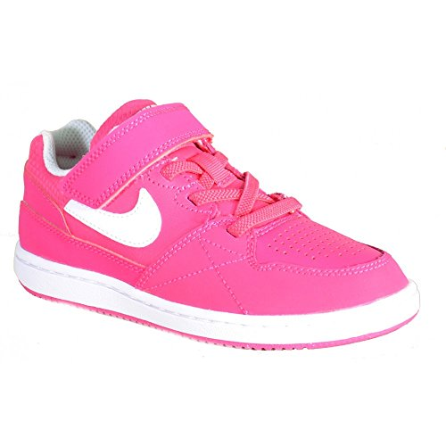 Nike - Nike Priority Low Ps Kinder Sportschuhe Leder Fuchsia 653690 Pink