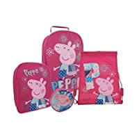 Peppa Pig Patchwork Luggage Set