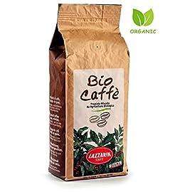 Organic Coffee Beans – 100% Bio Caffè Fresh Medium Roast of Premium Italian Blend, Certified Organic Fairtrade Coffee – Eco Friendly Packaging 500g 41cY etJhlL