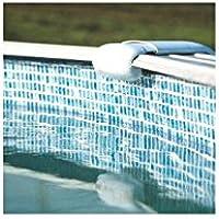 Gre FPROV737 - Liner para piscinas ovaladas 730x375 cm con altura 132 cm, color gresite