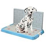KGAQ Puppy Beauty Toilet Dog Training Pet Salute vasino Pulizia Sgabello per Cani Una varietà di opzioni,B,S