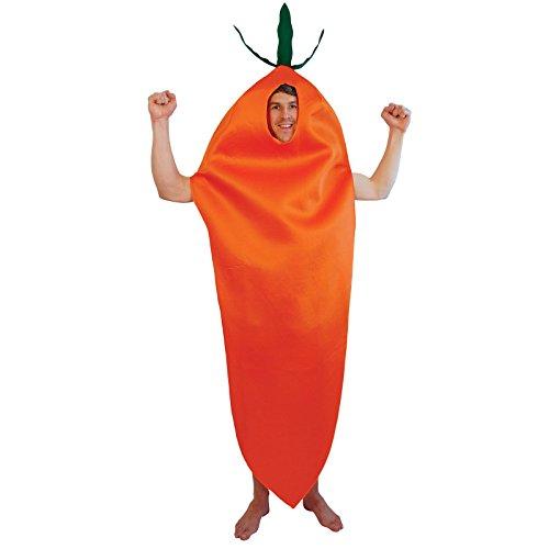Eine Karotte Kostüm - Bristol Novelty AC400 Karotte Kostüm,