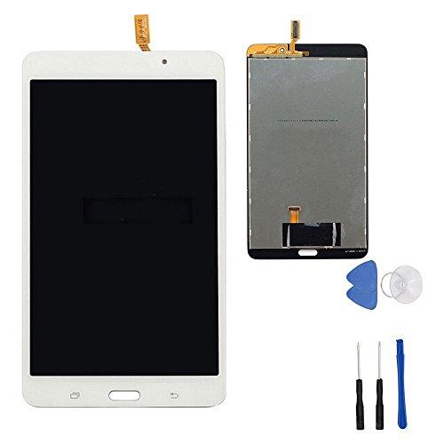 Ersatz-bildschirm 7 Tab 4 Galaxy (Weiß LCD Display Touchscreen Digitizer für Samsung Galaxy Tab 47.0WiFi SM-T230T230NU mit Werkzeug (kein Rahmen))