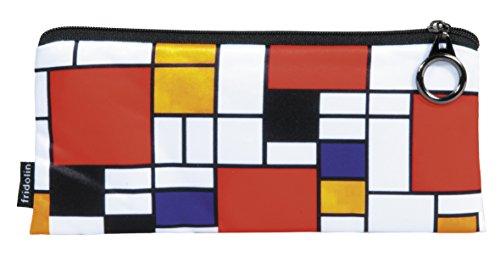 Bauhaus Stiftemappe Stiftemäppchen Mäppchen Etui *Mondrian-Style*