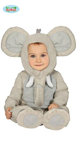 Fiesta Guirca Elefantkostüm Elefant Baby Kostüm Tierkostüm - Elefant Kostüm 18 Monate
