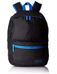 United Colors of Benetton Polyester 48 cms Black Casual Backpack (16A6BAGT7014I)