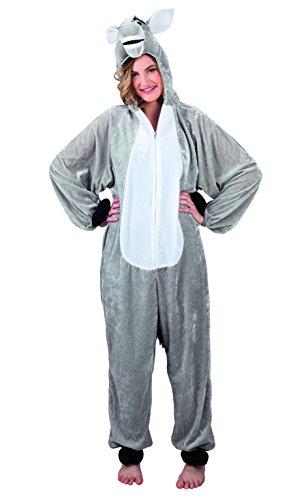 Boland 88010 Erwachsenenkostüm Esel Plüsch, M/L (Esel-kostüm Für Erwachsene)