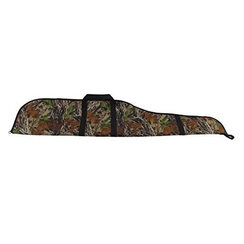 tourbon caza camuflaje 56'nailon acolchado Rifle escopeta pistola caso bolsa para Hunter