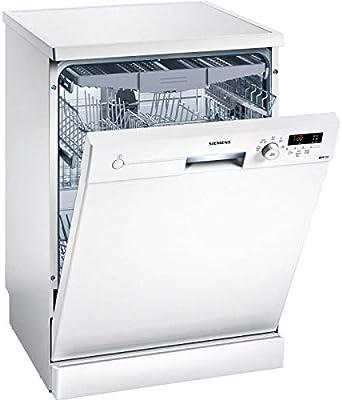 Siemens iQ100 SN215W02FE lavavajilla Independiente 14 cubiertos A++ - Lavavajillas (Independiente, Tamaño completo (60 cm), Blanco, Blanco, Botones, Giratorio, 175 m)
