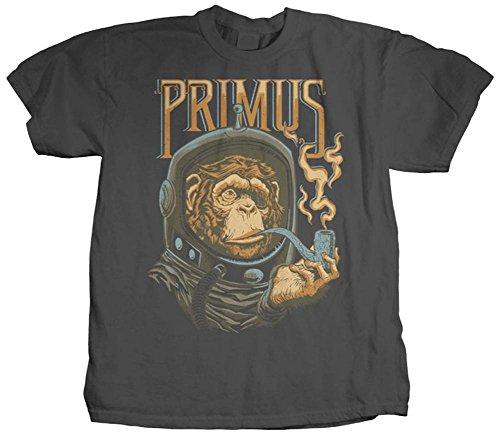 Old Glory Primus???Astro Monkey T-Shirt, Herren, Schwarz, Small -