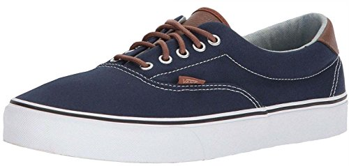 #Vans Era 59 C & L Marine Blanc Hommes Skate Formateurs Chaussures