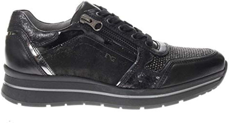Donna  Uomo Nero Giardini scarpe da da da ginnastica in Pelle Donna vantaggioso Prezzo ragionevole vario | On-line  f6e407