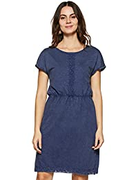 VERO MODA Women's A-Line Cotton Mini Dress
