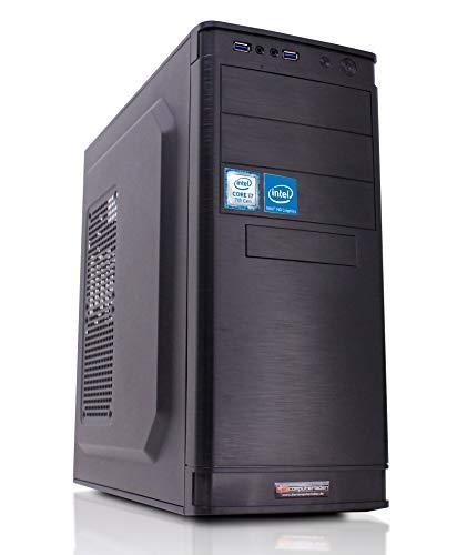 Office Aufrüst PC Intel, i7-7700K 4x4.2 GHz, 32GB DDR4, Intel HD Grafik 630 1GB, Computer Desktop Rechner