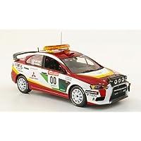 Mitsubishi Lancer Evo X, No.00, Zero Car, Rally Japan, 2008, Modelo de Auto, modello completo, Vitesse 1:43
