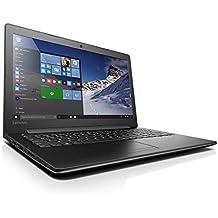 """Lenovo Ideapad 310-15IKB - Portátil de 15.6"""" HD (Intel Core i7-7500U, RAM de 12 GB, HDD de 1 TB, Nvidia Geforce 920MX de 2 GB, Windows 10 Home) negro - teclado QWERTY Español"""