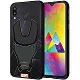 CellKraft Licensed Marvel Iron Man Hard Back Case Mobile Cover for Samsung Galaxy M20 (Multicolour)