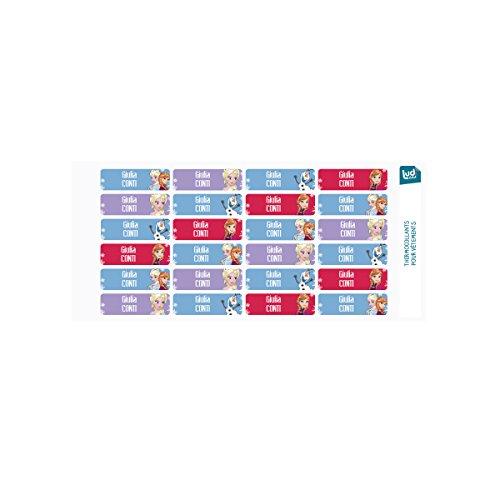 20 Ferro da Stiro SCUOLA nome tag etichette stampate IMPERMEABILE nastri uniforme personalizzata