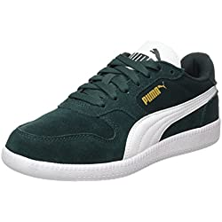 Puma Unisex-Erwachsene Icra Trainer SD Low-Top, Grün (Green Gables-White), 43 EU