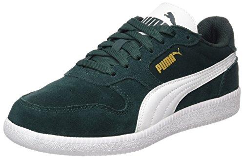 Puma Unisex-Erwachsene Icra Trainer SD Low-Top, Grün (Green Gables-White), 39 EU
