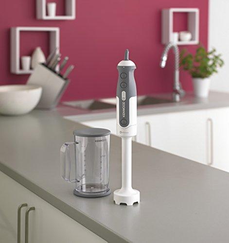 41cYBh2vufL - Kenwood Triblade System Hand Blender, Mixer with Anti-splash, Masher Attachment and 0.75 Litre BPA-free Plastic Beaker…