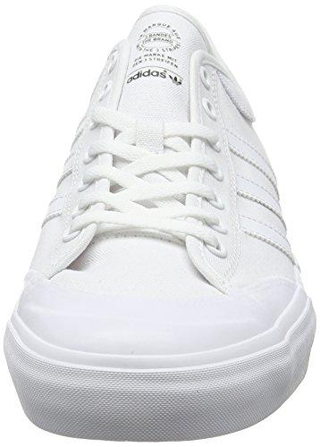adidas Matchcourt, Chaussures de Skateboard Mixte Adulte Blanc (Footwear White/footwear White/footwear White)