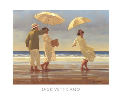 """"""" The Picnic party """" Print By jack Vettriano - Size for sale  Delivered anywhere in UK"""