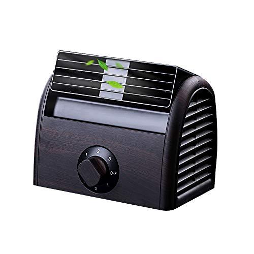 Timer-gas-bereich (NCBH Mini-Klimaanlagenlüfter - ohne Lüfter, Schreibtischlüfter, Retro-Klimaanlage für das Büro zu Hause, Timer 3-stufiger AC 220V-Lüfter,Black)