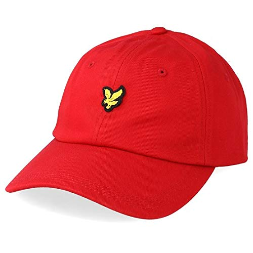 Lyle & Scott mens baseball cap he906a Tomato Red One Size