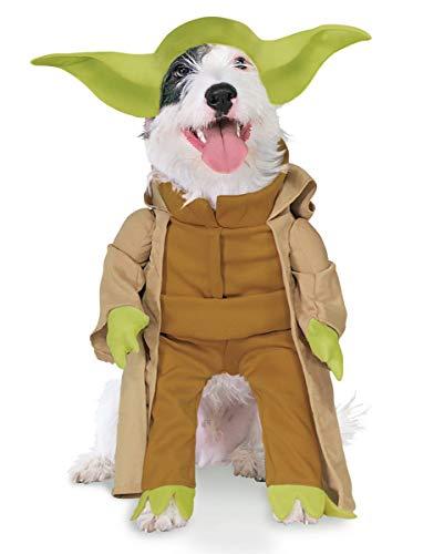 Yoda Hundekostüm M (Kostüm Bretonne)