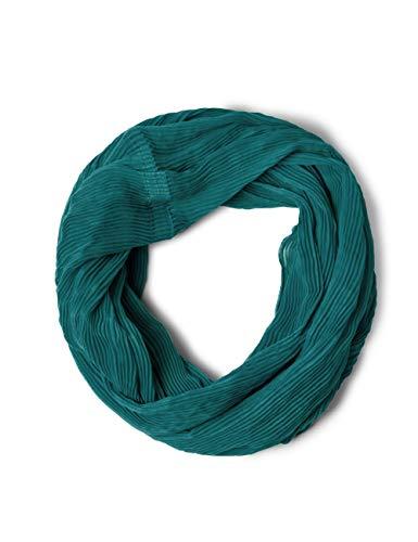 CECIL Cecil Damen Softer Plissee Loop amazonia green A